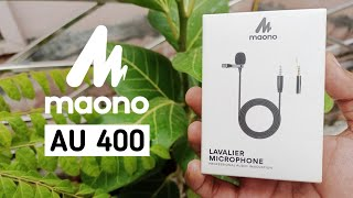 Maono AU-400 Lavalier Microphone | Best Budget Mic | UNBOXING & REVIEW | Hindi