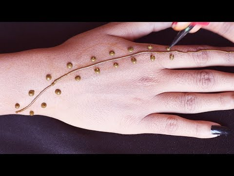 Very Stylish New Mehndi Design For Hands    Easy Henna Design For Girls    Stylish Henna Designs
