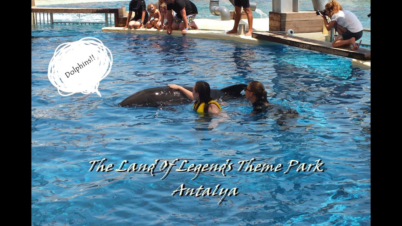 I kissed a dolphin!  Bir yunusu öptüm!  The Land Of ...