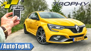 Renault Megane RS TROPHY 300 REVIEW POV Test Drive on AUTOBAHN & ROAD by AutoTopNL