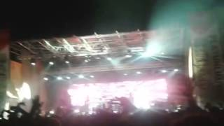 The Chemical Brothers - Swoon LIVE 15/08/14 Gallipoli