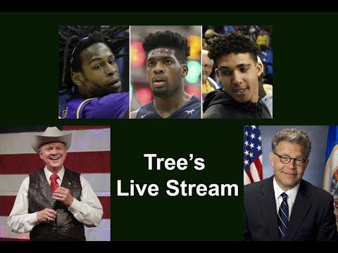 Live Stream - Discussing Senator Al Franken, Roy Moore, 3 UCLA Dindus and more..... - 동영상