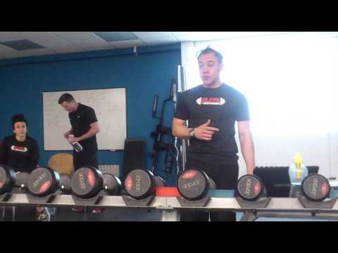 Nutrition seminar at The Fitness Experts Basingstoke Video 2