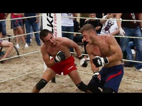 WILD BOXER run into RED KICK BOXER !!! Crazy Fight !!!