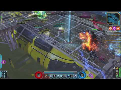 Marvel Heroes 2016 2.06 Farming Cosmic Industry City March 18, 2017