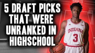 5 Players From The 2017 NBA Draft That Were Unranked In Highschool