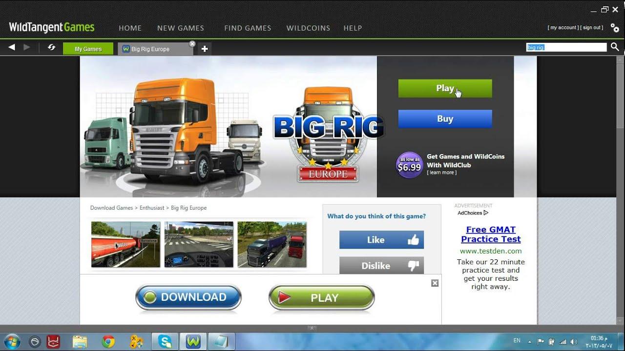 games big rig europe
