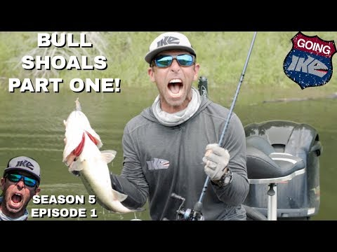 GOING IKE: BULL SHOALS LAKE PART ONE!!!