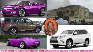 How rich is Kate Henshaw  All her Mansions Cars Companies Luxuries  Assets