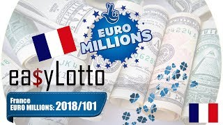 EuroMillion FRANCE results 18 Dec 2018