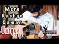 Mere Rashke Qamar Song Baadshaho   New ELECTRO Heartbeat On Guitar   ACPAD COVER  Amaan Shah  Video