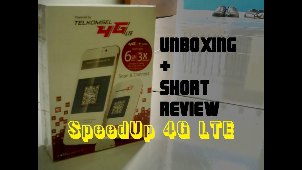 Unboxing Short Review Modem Wifi Mifi Speedup 4g Lte Model M 42 Telkomsel Pahe 3 Huawei E5573 14gb Free Plus Paket Tambahan