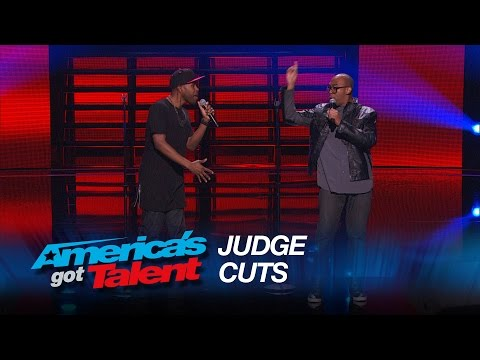 Craig Lewis Band: Michael Bublé Hits the Golden Buzzer for Singing Duo - America's Got Talent 2015