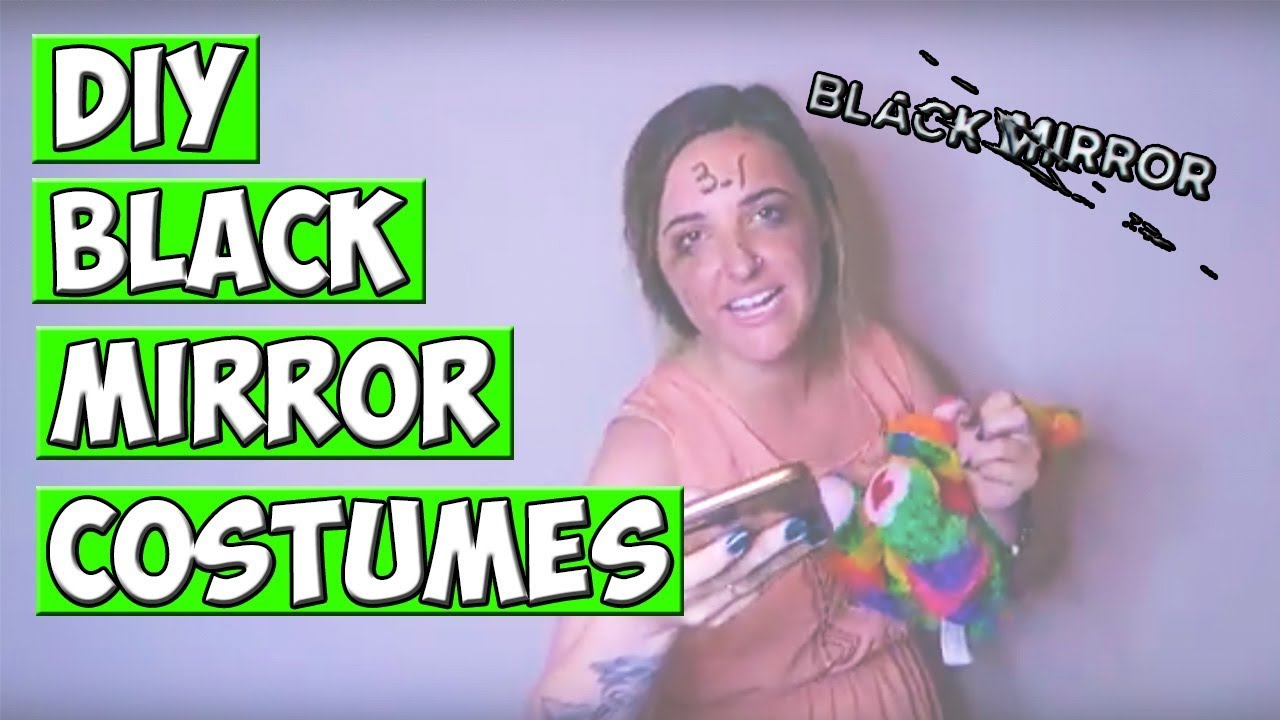 3 diy free black mirror halloween costumes - youtube