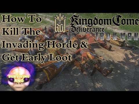 Destroy All Cumans! How To Kill The Invading Horde & Get Early Loot | Kingdom Come: Deliverance