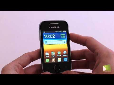 Review Samsung Galaxy Y en español | Faqsandroid.com