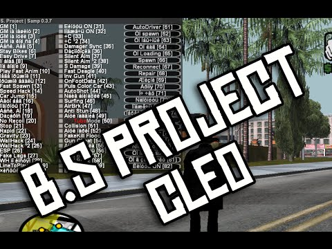 b s project v1 4 cleo replacement for mod sa samp 0 3 7 youtube. Black Bedroom Furniture Sets. Home Design Ideas