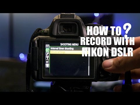 How to record video with Nikon DSLR (D5200/D5300)