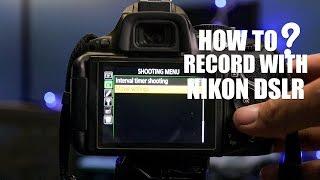 Як записати відео з Nikon цифрових дзеркальних (Д5200/D5300 камера)