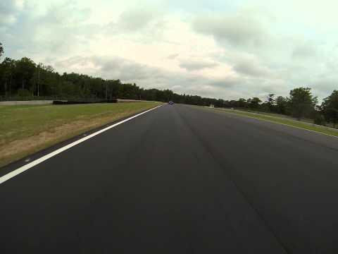 Brainerd International Raceway in-car camera