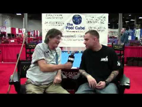 Casino Billiards Post Game Interview Terri Hess and Josh Brothers