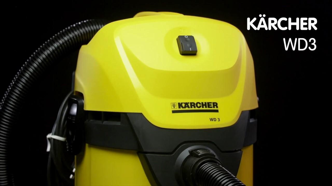 Karcher WD3 Aspiratore Multifunzione