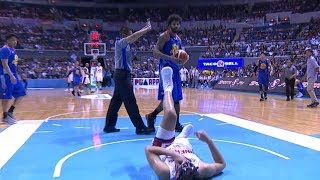 Rice is thrown out of the game | PBA Governor's Cup 2017 thumbnail