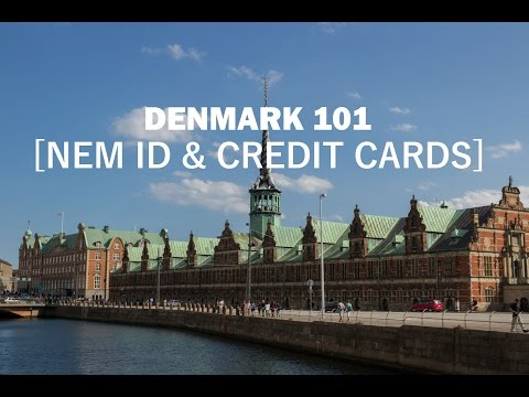 Denmark 101 - NemID and Using Credit Cards in Denmark - Ep. 30