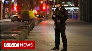 Moscow shooting: Gunshots heard at security services HQ - BBC News