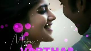 maruvarthai pesathe whatsapp status female version