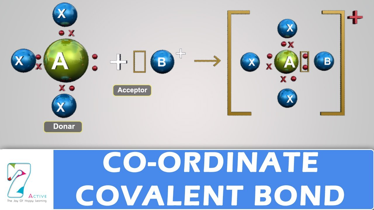 Co Ordinate Covalent Bond Youtube