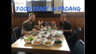 Gambar cover Indonesia: FOOD FEAST in Padang, and some sightseeing!