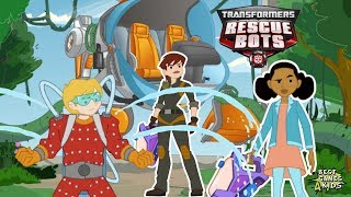 Transformers Rescue Bots: Sky Forest Rescue | Help Griffin Rock RESCUE TEAM By PlayDate Digital