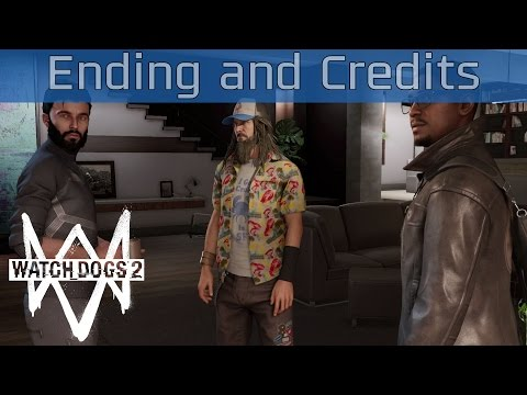 Watch Dogs 2 - Ending and Credits [HD 1080P]