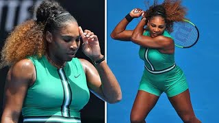 Serena Williams: Australian Open star sparks debate over unusual outfit with fishnets | Celebrity Ne