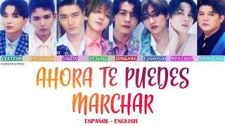 Super Junior - Ahora Te Puedes Marchar