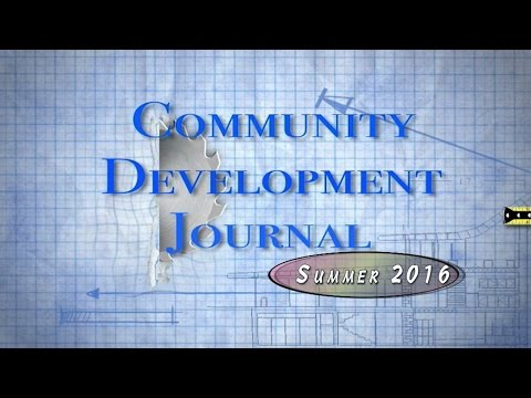 Community Development Journal Summer 2016 (Fridley MN)