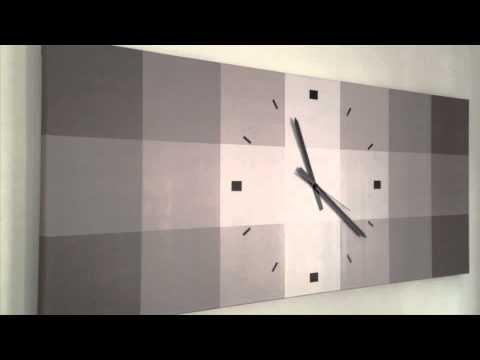 Relojes de pared con dise o moderno youtube - Relojes para decorar paredes ...