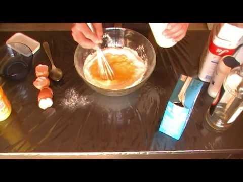 Recette pâte à crêpes facile et rapide