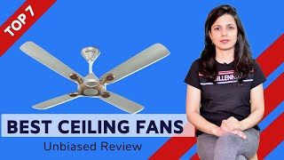 ✅ Top 7: Best Ceiling fans  in India With Price 2020 | Budget Ceiling fans Review & Comparison