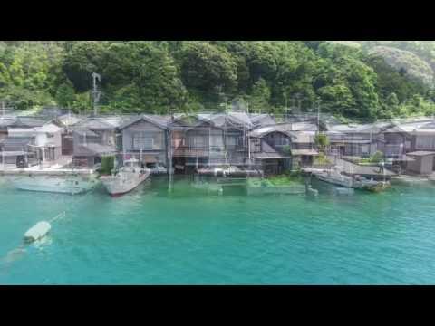 伊根の舟屋 by ひでぴょん on YouTube