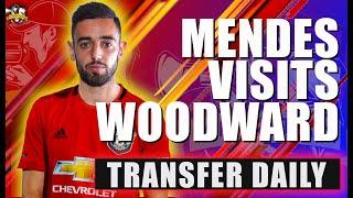 Bruno Fernandes agent 'holds fresh Man Utd talks' ahead of £65m move Man United Transfer News