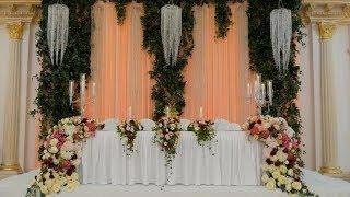 Свадебное оформление в Алматы. цветы живые и искусственные Royal Tulip