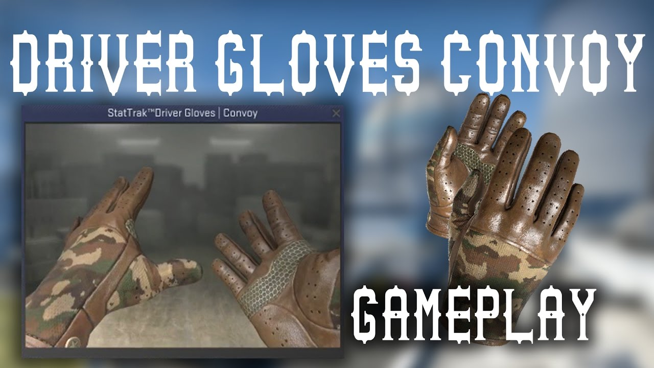 Best driving gloves ever - Driver Gloves Convoy In Game Preview