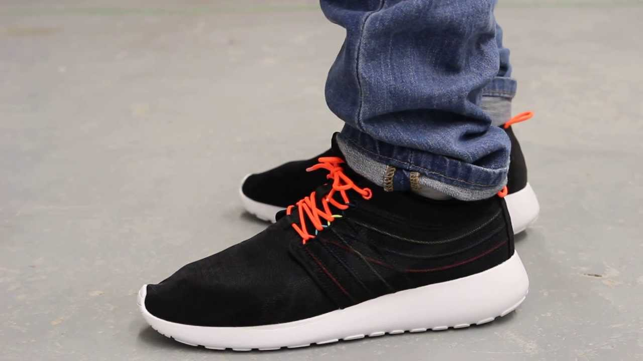 Nike Rosherun Dynamic Flywire On-feet Video at Exclucity - YouTube 21a845d319