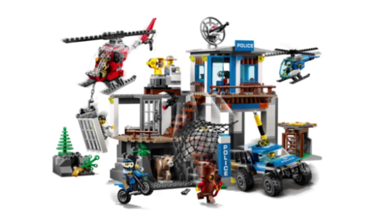 Lego City Sets 2018