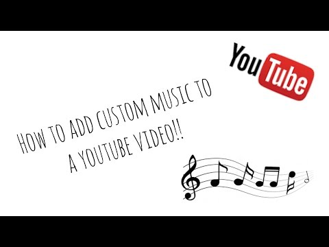 How to Add Your Own Music to a Video (with YT Editor)