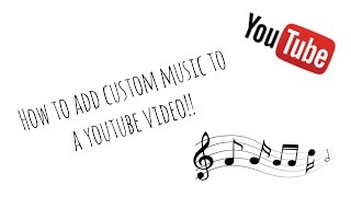 How To Add Your Own Music To A Video With Yt Editor Youtube
