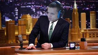 THE TWITCH LATE NIGHT SHOW WITH ANDY MILONAKIS, ANNIE BOT, RAJJ AND GREEK