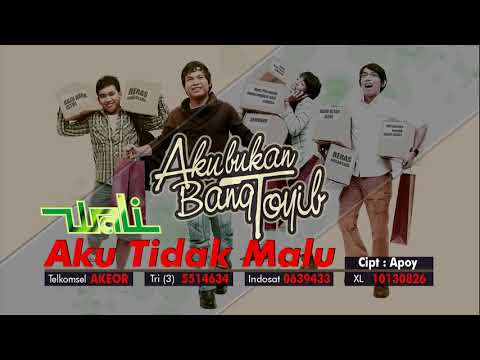 Wali - Aku Tidak Malu (Official Audio Video)